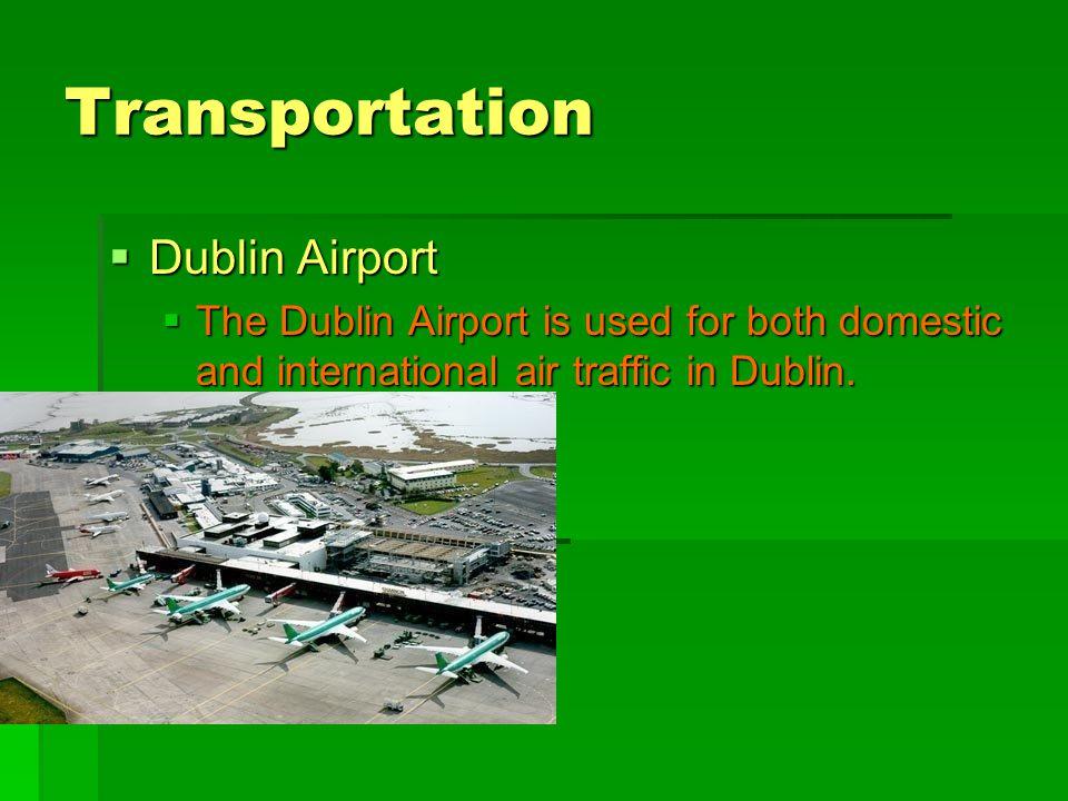 Transportation Dublin Airport