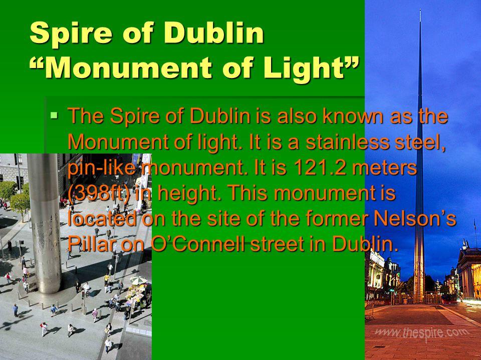 Spire of Dublin Monument of Light