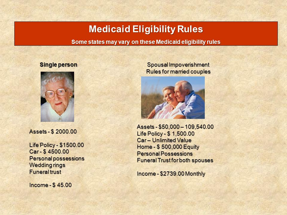 life insurance and the medicaid application