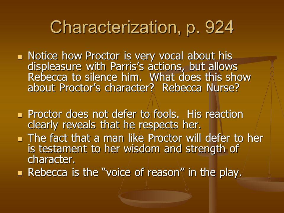 Characterization, p. 924