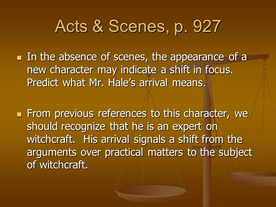 Acts & Scenes, p. 927