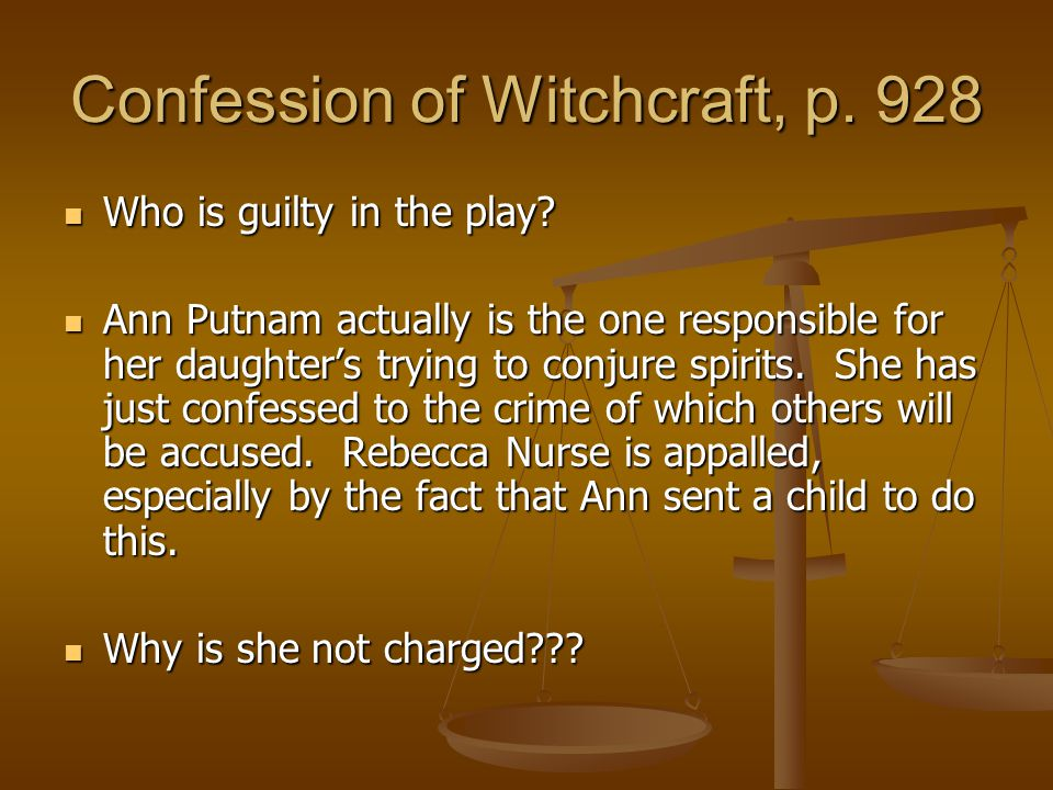 Confession of Witchcraft, p. 928