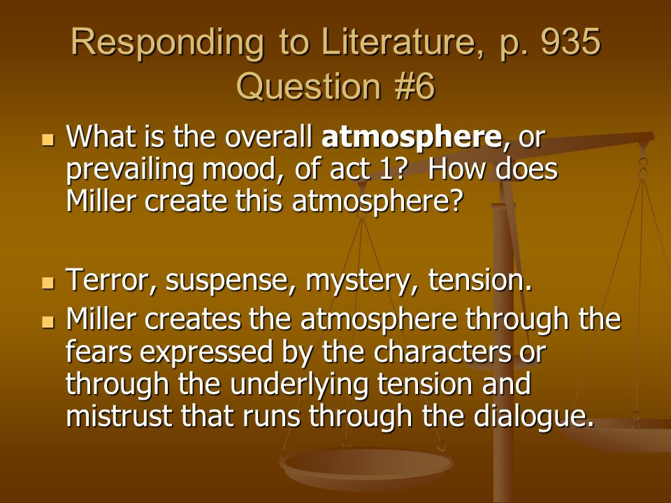 Responding to Literature, p. 935 Question #6