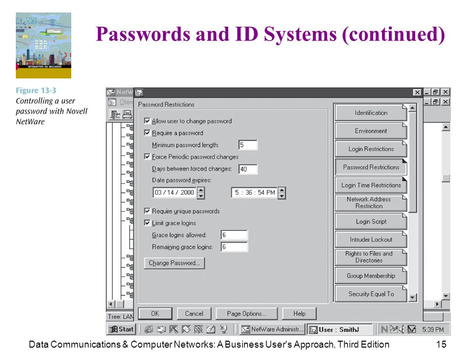 Passwords and ID Systems (continued)
