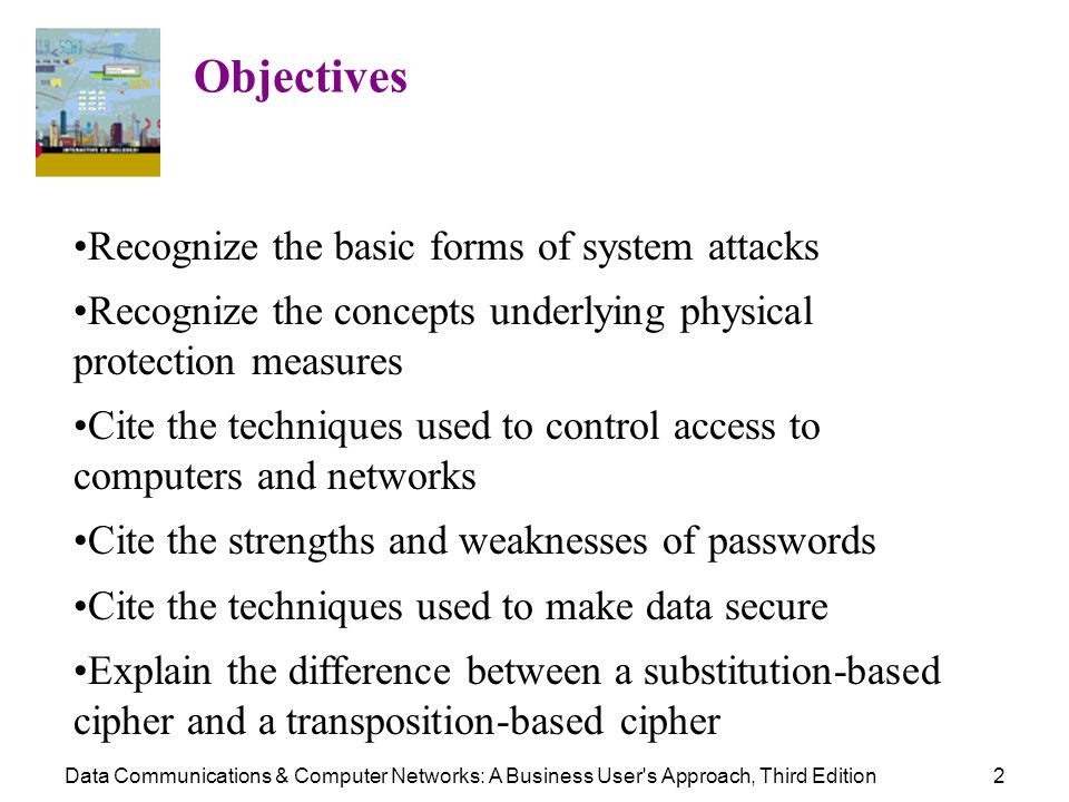 Recognize the basic forms of system attacks