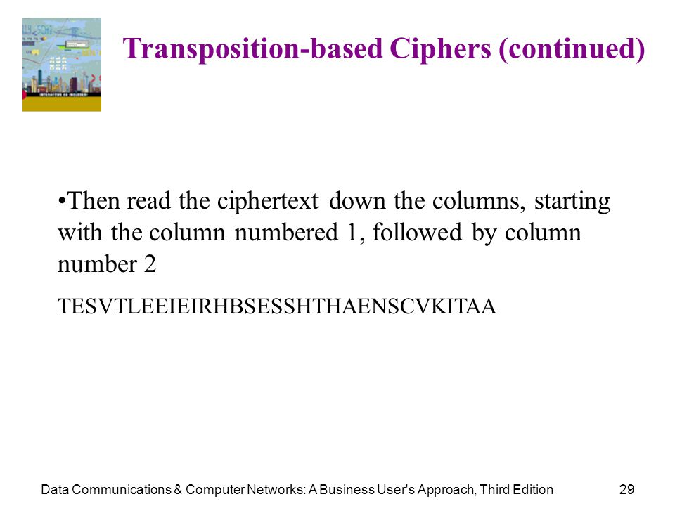 Transposition-based Ciphers (continued)