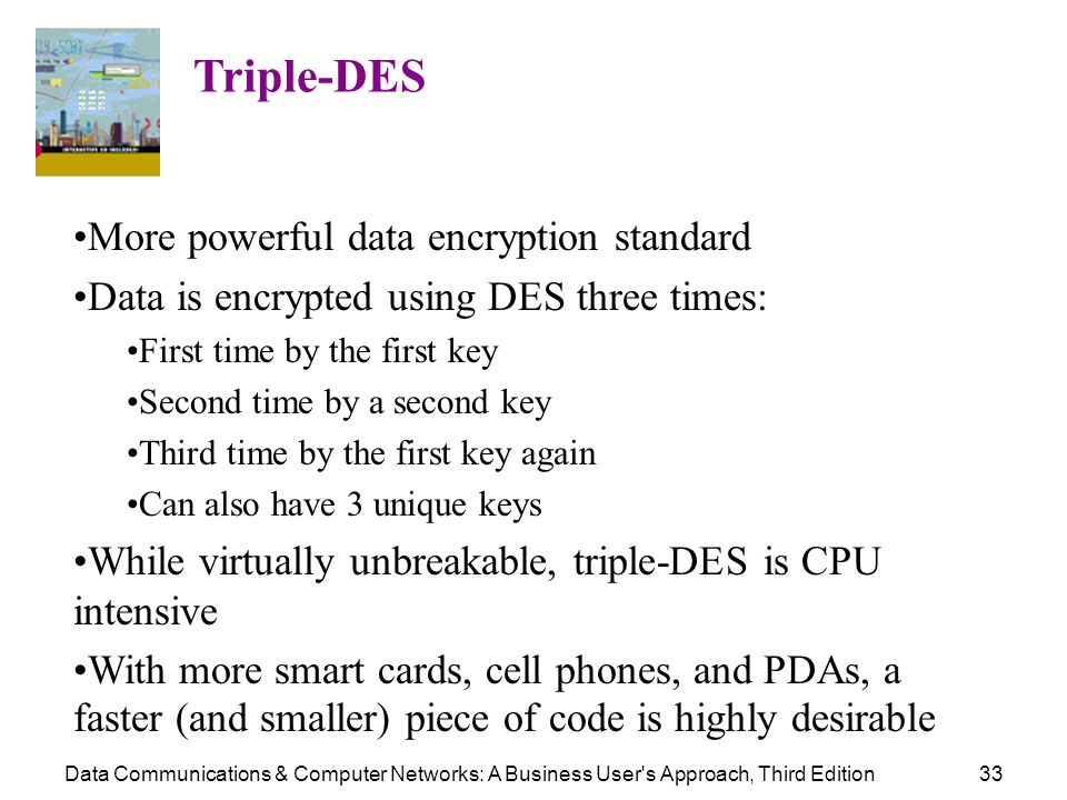 More powerful data encryption standard