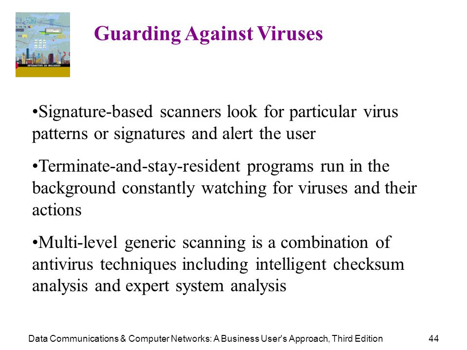 Guarding Against Viruses