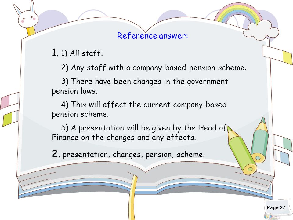 2. presentation, changes, pension, scheme.