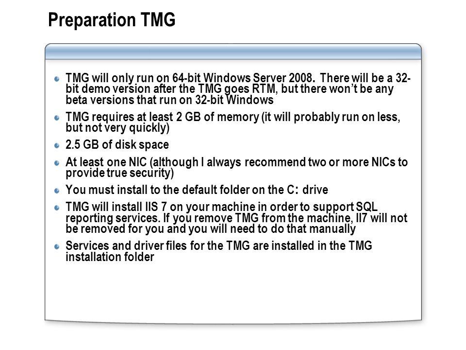 Preparation TMG