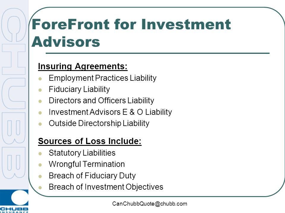 ForeFront for Investment Advisors