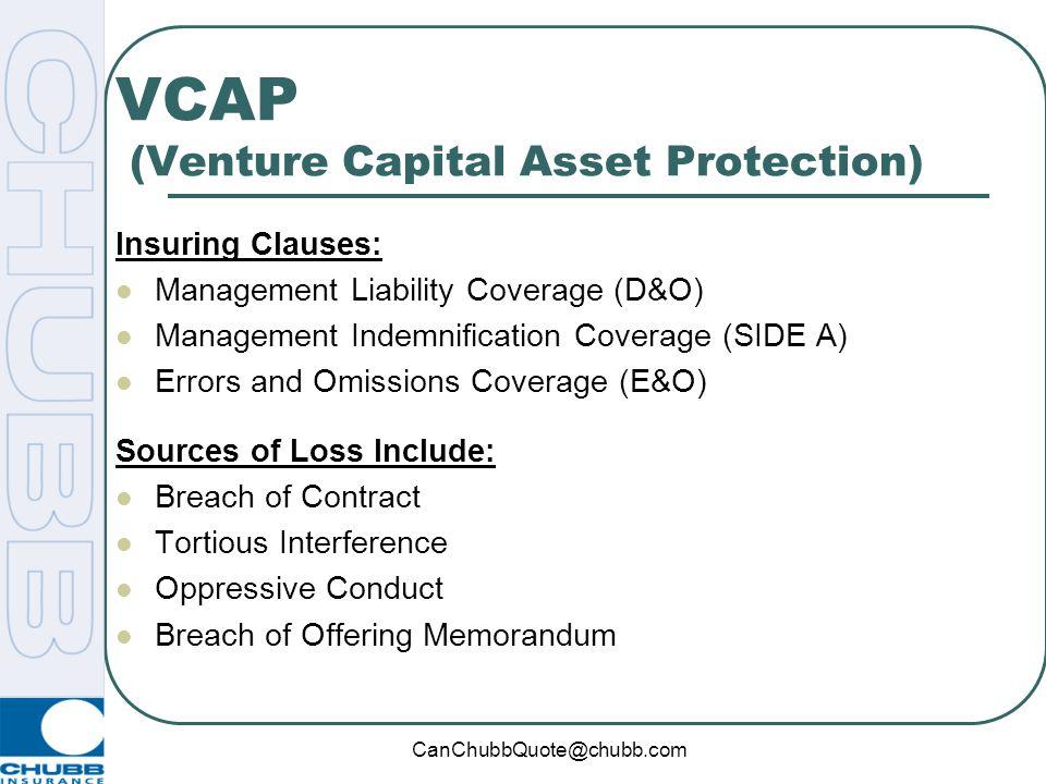 VCAP (Venture Capital Asset Protection)