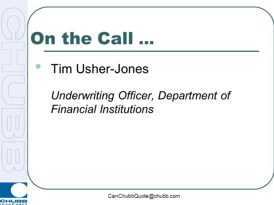 On the Call … Tim Usher-Jones