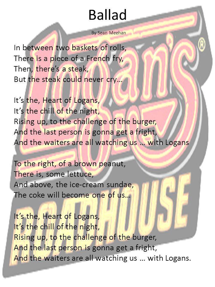 Ballad By Sean Meehan.