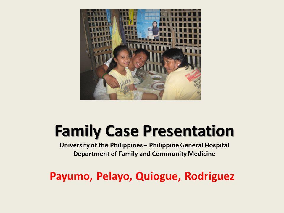 Payumo, Pelayo, Quiogue, Rodriguez