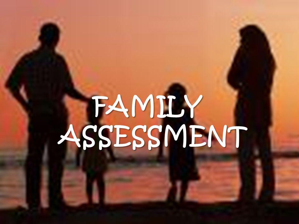 FAMILY ASSESSMENT