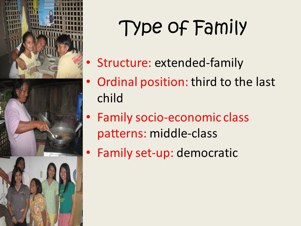 Type of Family Structure: extended-family