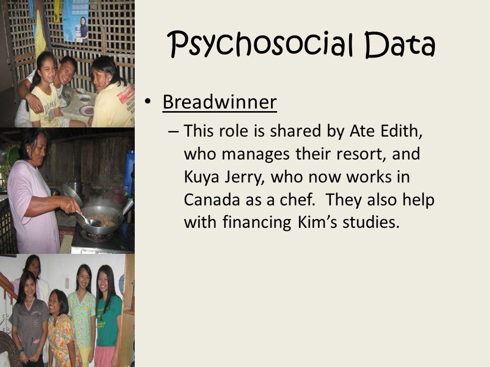 Psychosocial Data Breadwinner