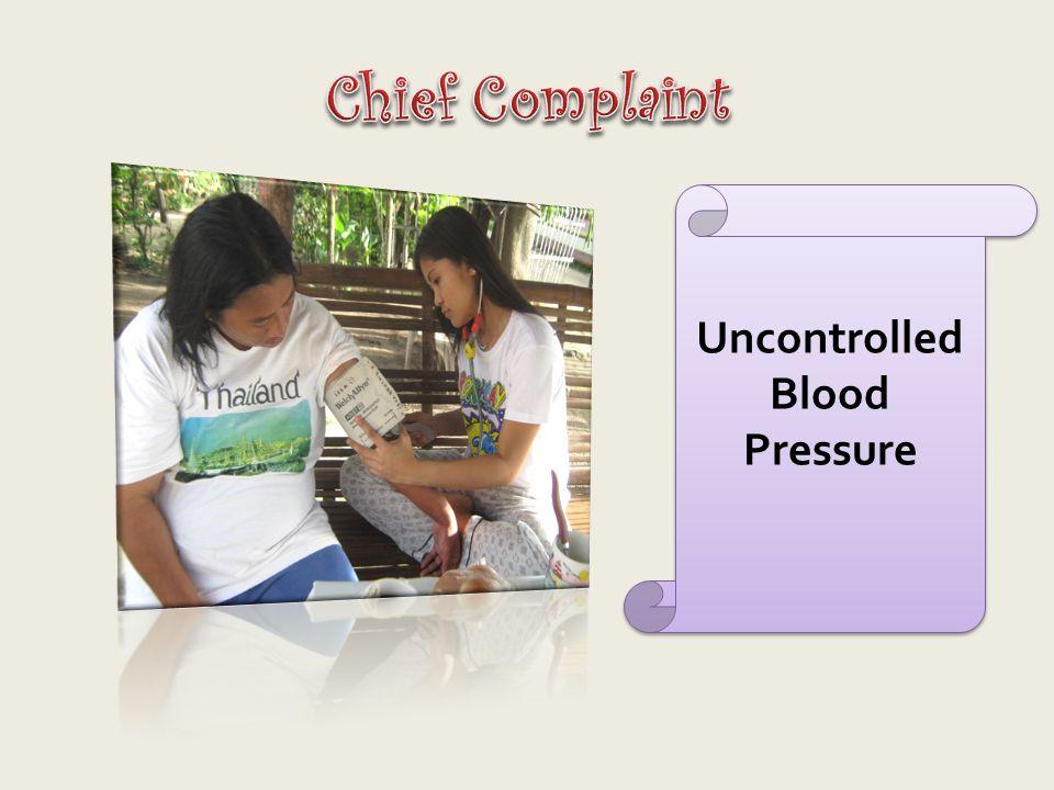 Uncontrolled Blood Pressure