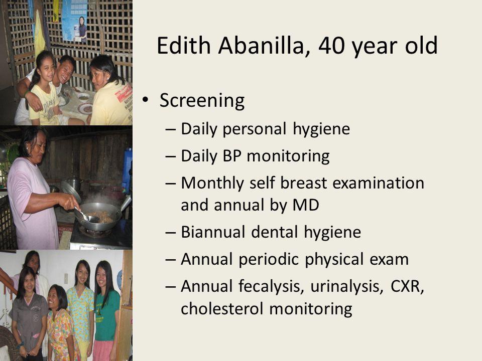 Edith Abanilla, 40 year old