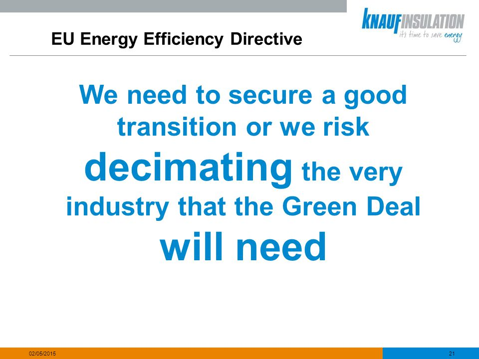 EU Energy Efficiency Directive