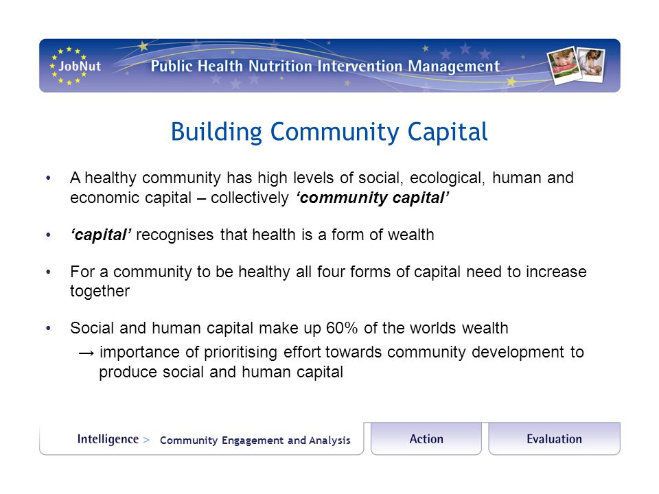 Building Community Capital