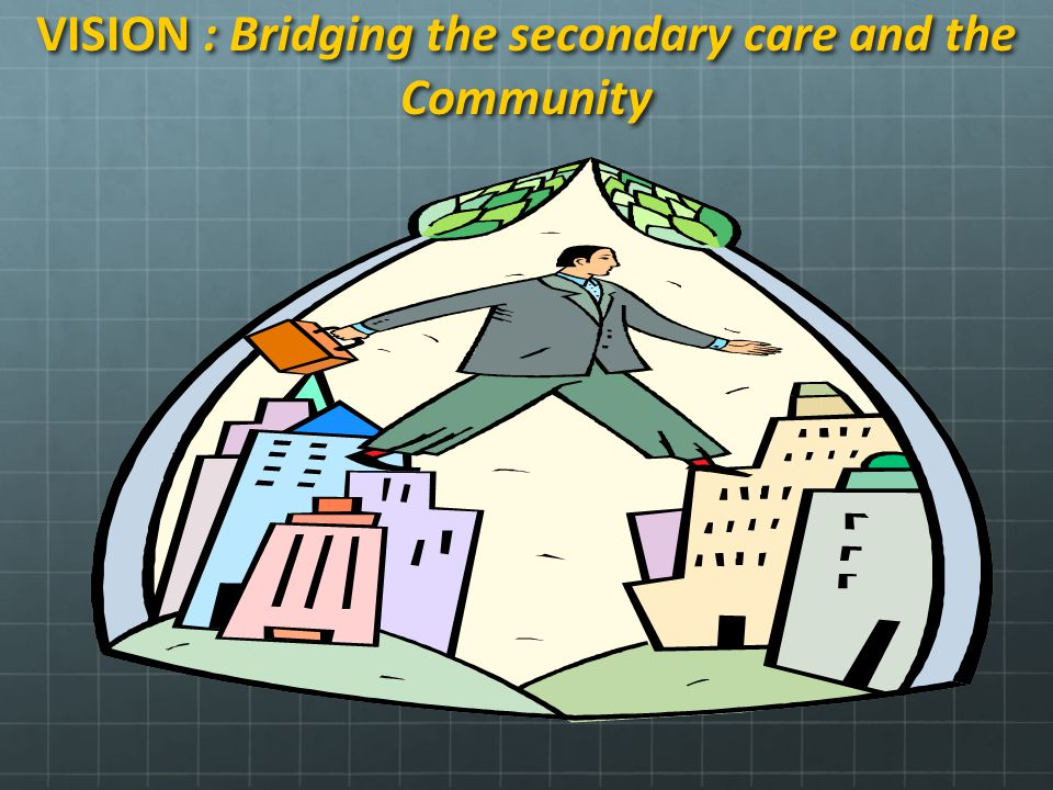 VISION : Bridging the secondary care and the Community