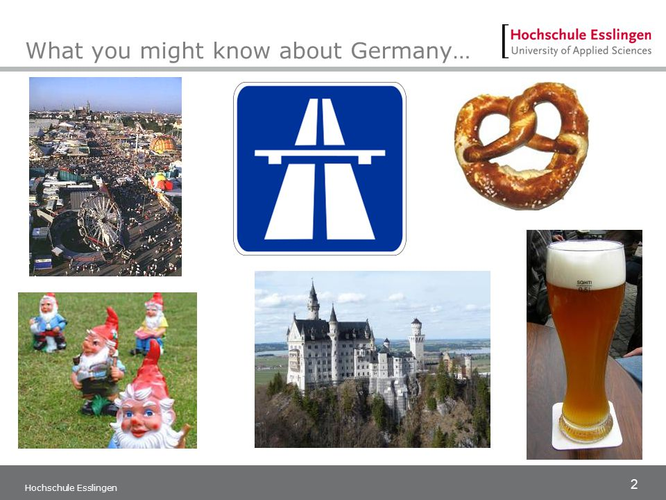What you might know about Germany…