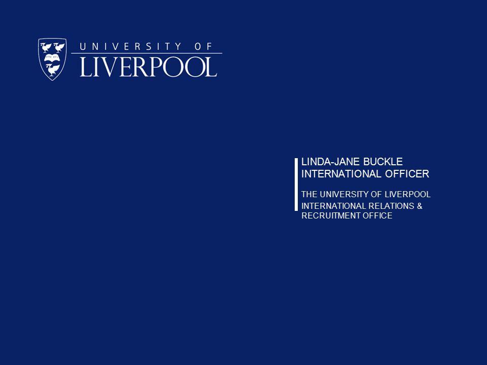 LINDA-JANE BUCKLE INTERNATIONAL OFFICER