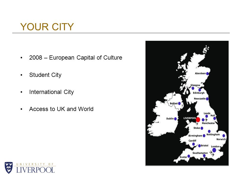 YOUR CITY 2008 – European Capital of Culture Student City