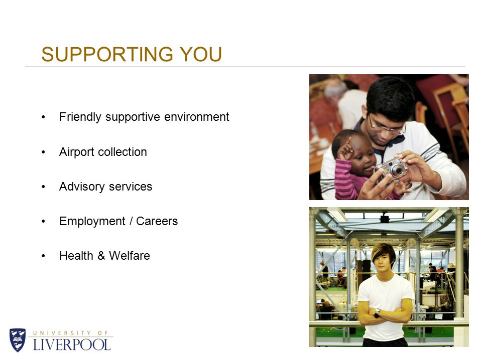 SUPPORTING YOU Friendly supportive environment Airport collection