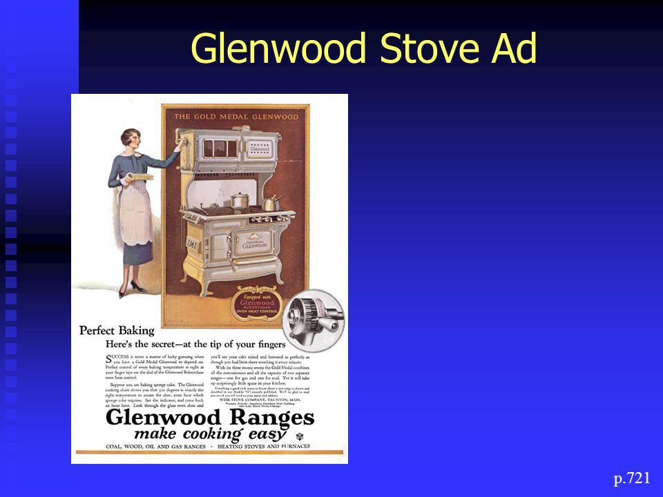 Glenwood Stove Ad p.721