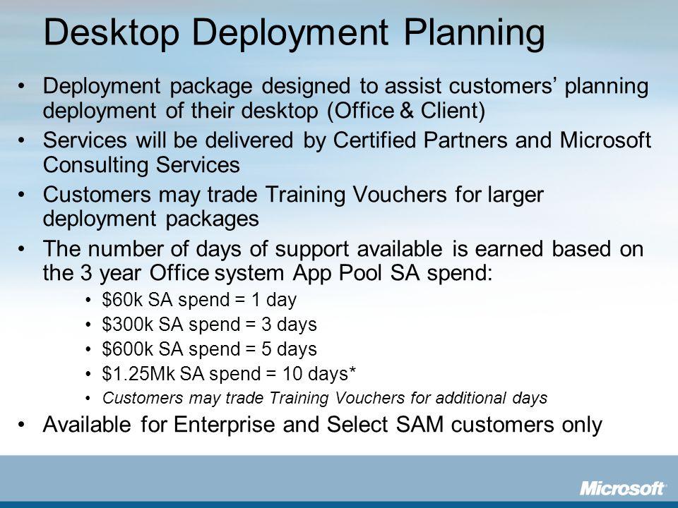 Desktop Deployment Planning
