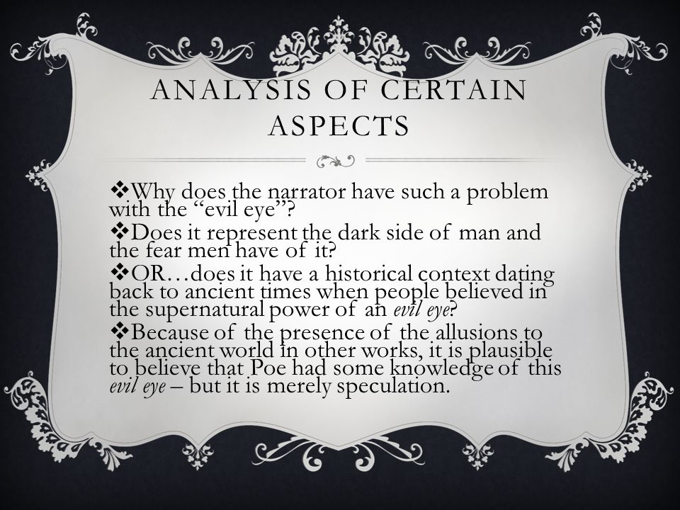 Analysis of Certain Aspects