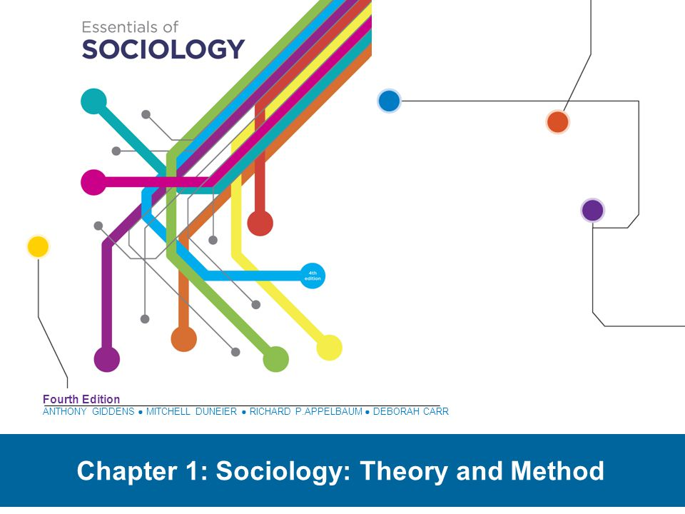 Chapter 1: Sociology: Theory and Method