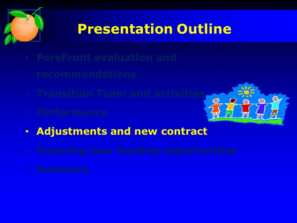 Presentation Outline ForeFront evaluation and recommendations