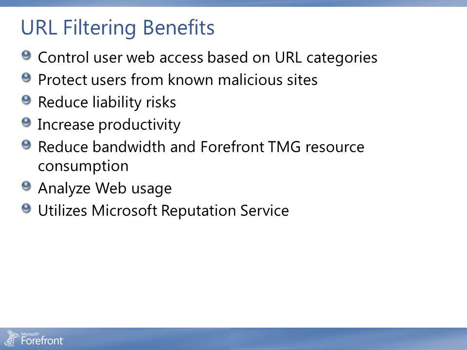 URL Filtering Benefits