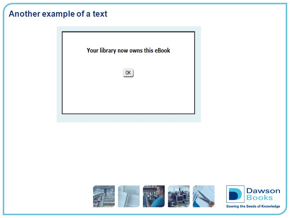 Another example of a text
