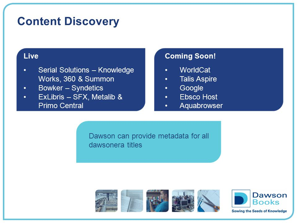 Content Discovery Live