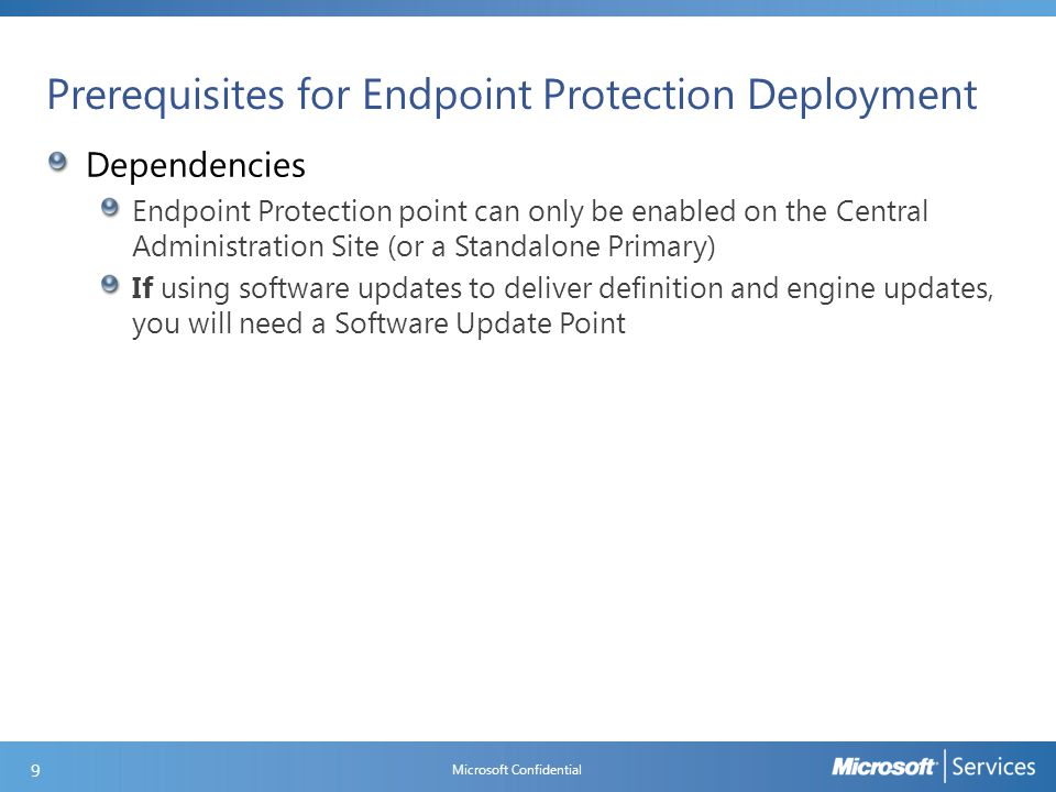 Configure Endpoint Protection