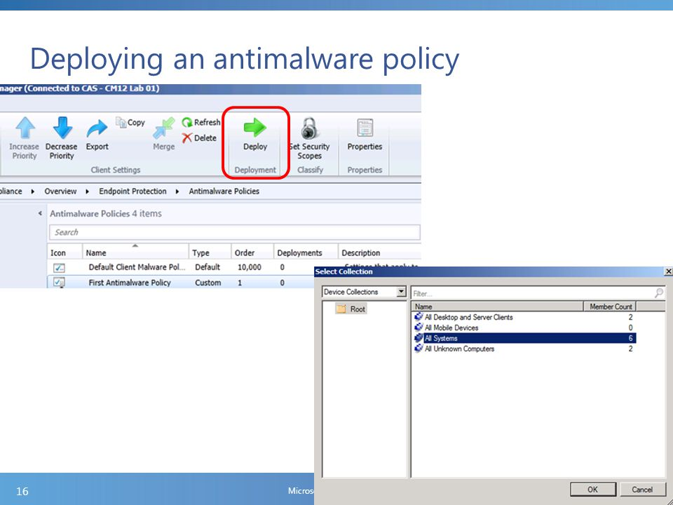 Create and deploy Windows Firewall policies