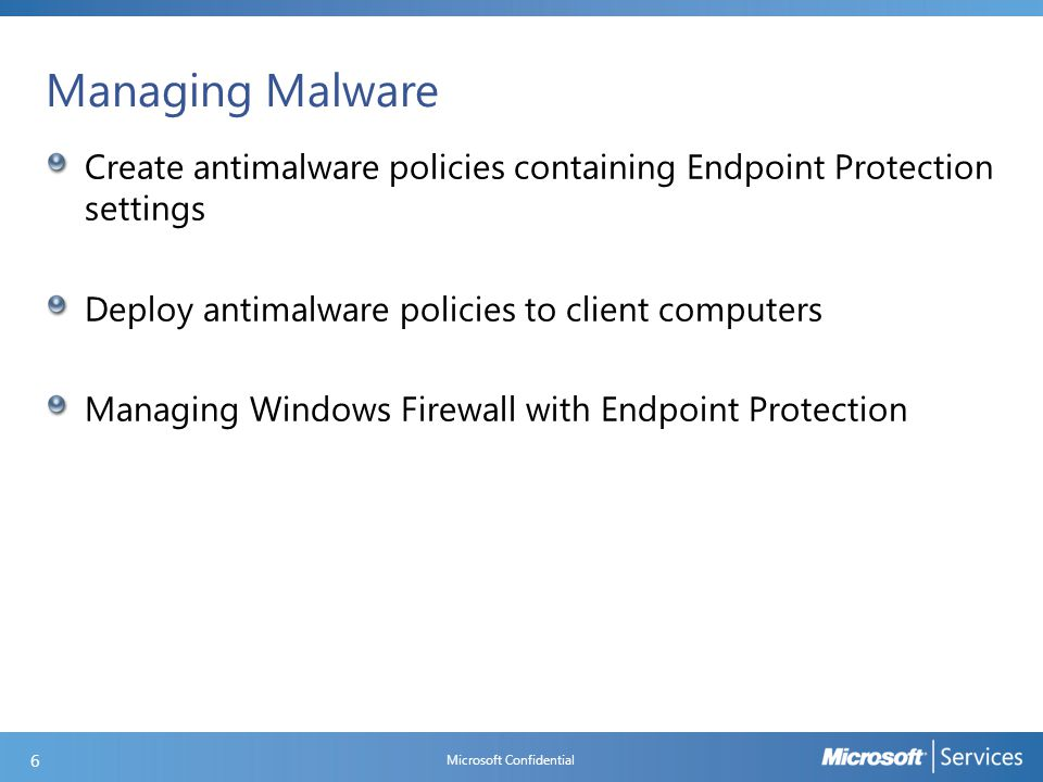 Changes from Forefront Endpoint Protection 2010