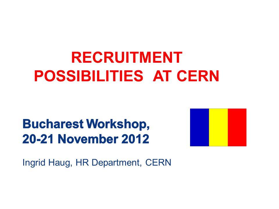 Bucharest Workshop, 20-21 November 2012