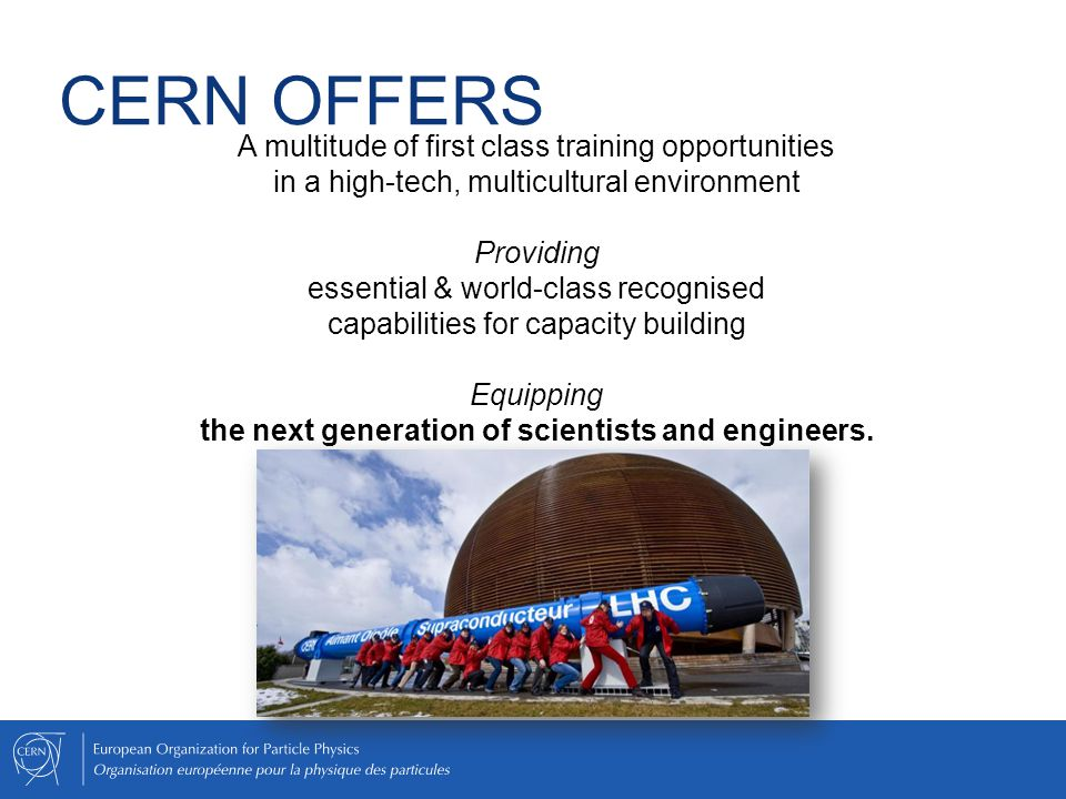 Equipping the next generation of scientists and engineers.