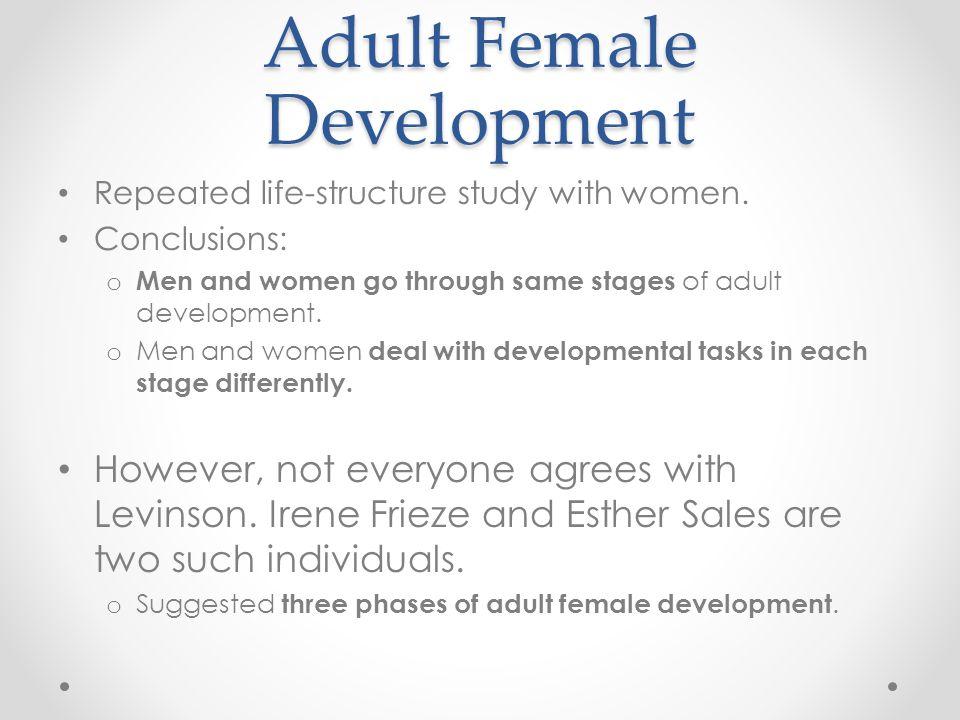 Adult Female Development