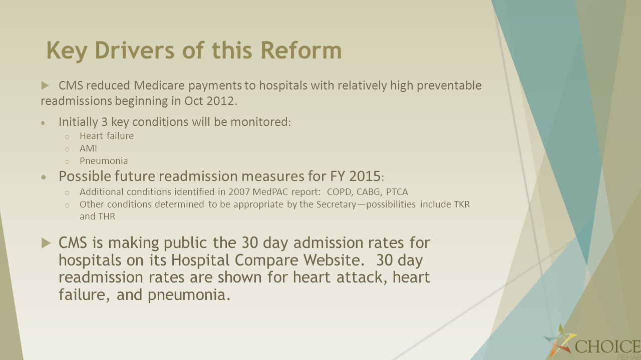 Key Drivers of this Reform