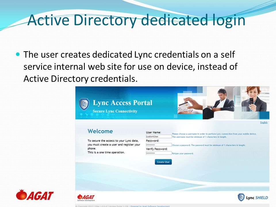 Active Directory dedicated login