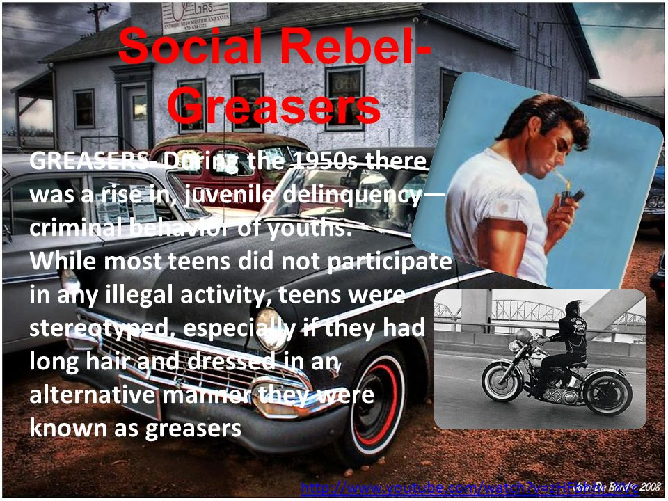 Social Rebel- Greasers