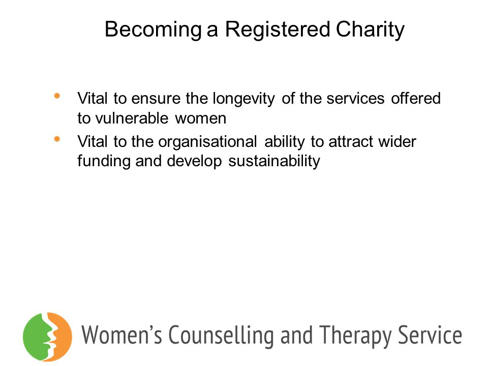 Becoming a Registered Charity
