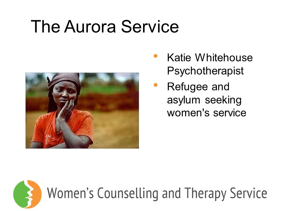 The Aurora Service Katie Whitehouse Psychotherapist
